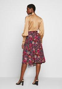 NAF NAF - PORTY NIGHT - A-line skirt - night/multicolor - 2