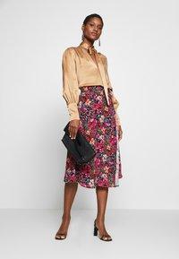NAF NAF - PORTY NIGHT - A-line skirt - night/multicolor - 1