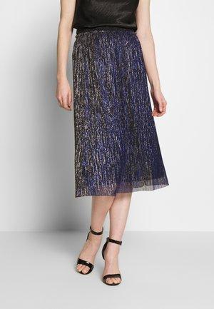 SHINY - Pencil skirt - gold