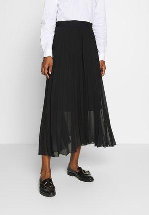 PLISSEE  - Veckad kjol - noir