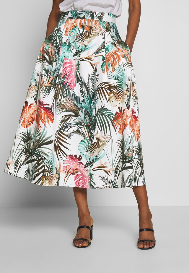 LAPALMA - A-line skirt - lapalma ecru