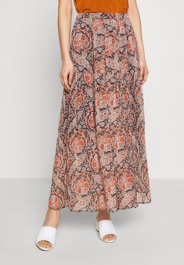 Maxi skirt - multi-coloured