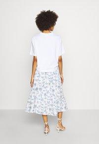 NAF NAF - MANUELLA - Áčková sukně - blanc - 2