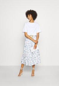 NAF NAF - MANUELLA - Áčková sukně - blanc - 1