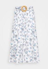 NAF NAF - MANUELLA - Áčková sukně - blanc - 3
