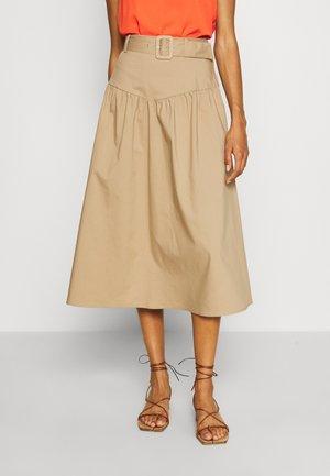 FORET - A-line skirt - bois flotte