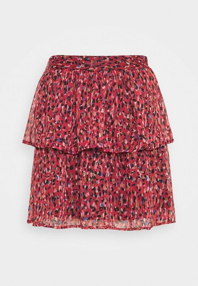 JESSICA - Spódnica mini - red