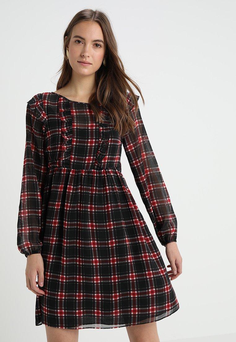 NAF NAF - TARTANT  - Day dress - imprime