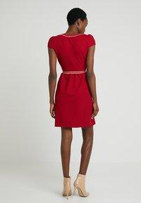 NAF NAF - LABORDY - Sukienka letnia - rouge farmer - 2