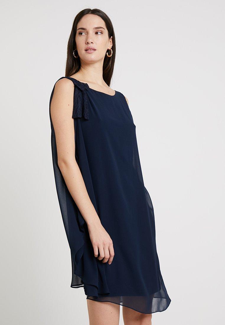 NAF NAF - LAURIE NOEUD - Robe d'été - bleu marine