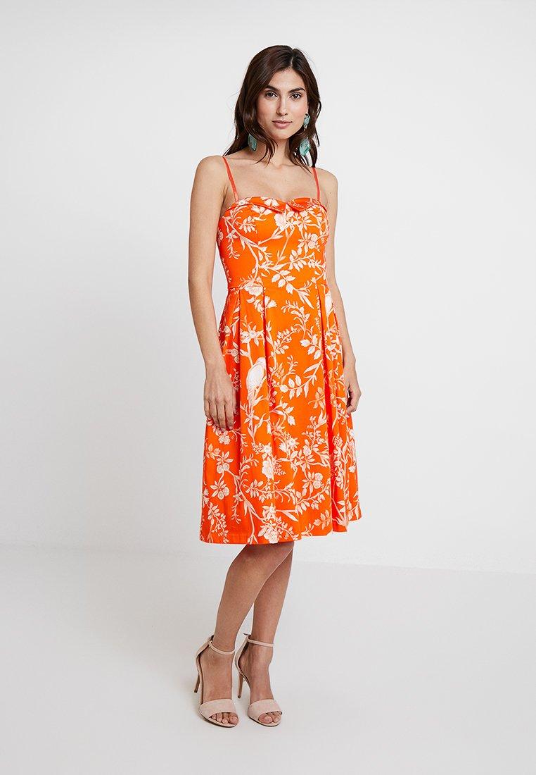 NAF NAF - EFEVER - Cocktailkleid/festliches Kleid - orange