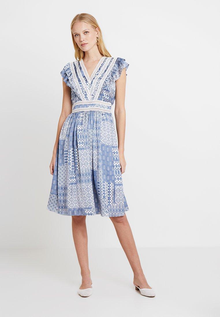 NAF NAF - SIREN - Robe d'été - light blue