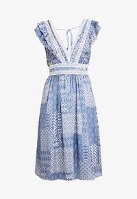 NAF NAF - SIREN - Robe d'été - light blue - 5