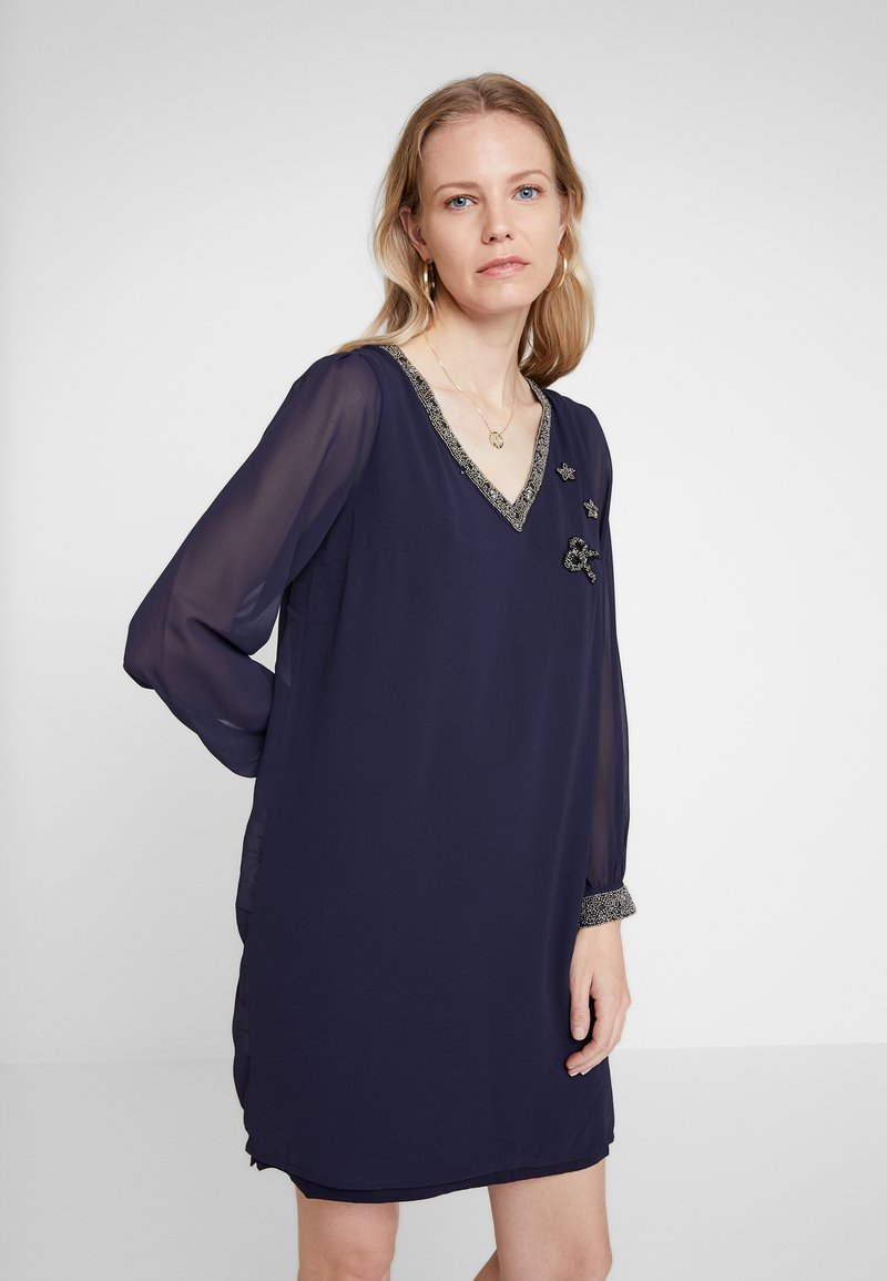 NAF NAF - LORIGA - Day dress - bleu marine