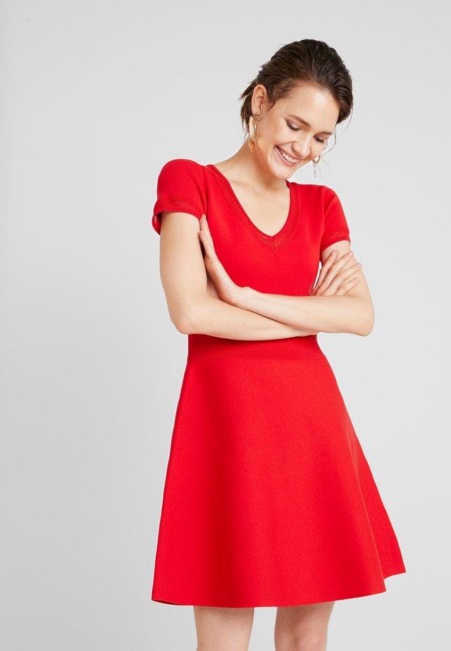 MILLIE - Jumper dress - rubis