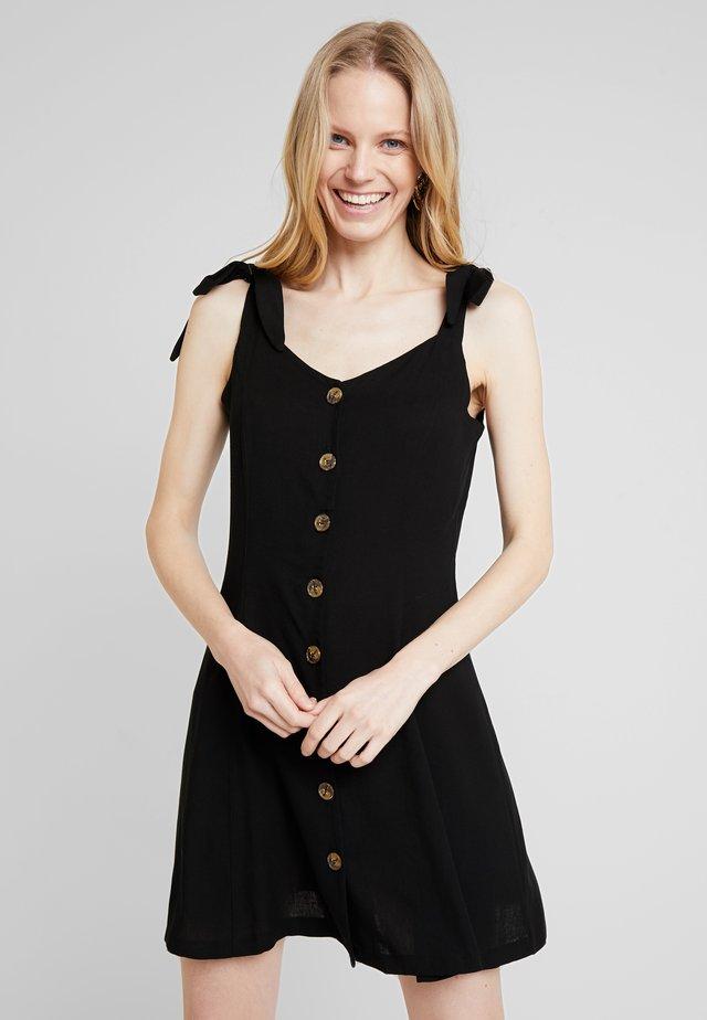 LINA - Košilové šaty - noir