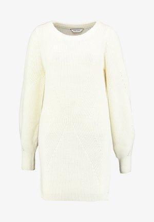 MUNI - Vestido de punto - ecru