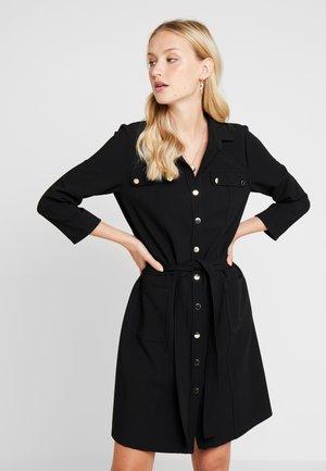EMILIE - Robe chemise - noir