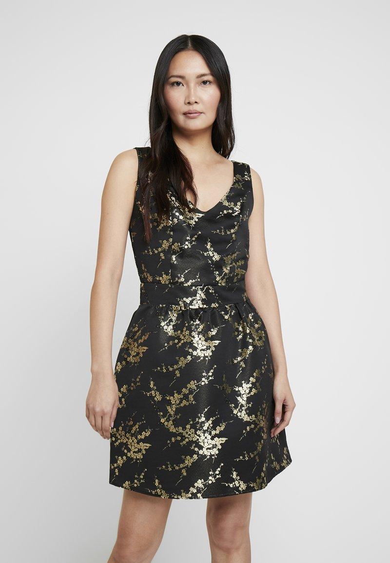NAF NAF - ESAKURA - Vestito elegante - metallic black