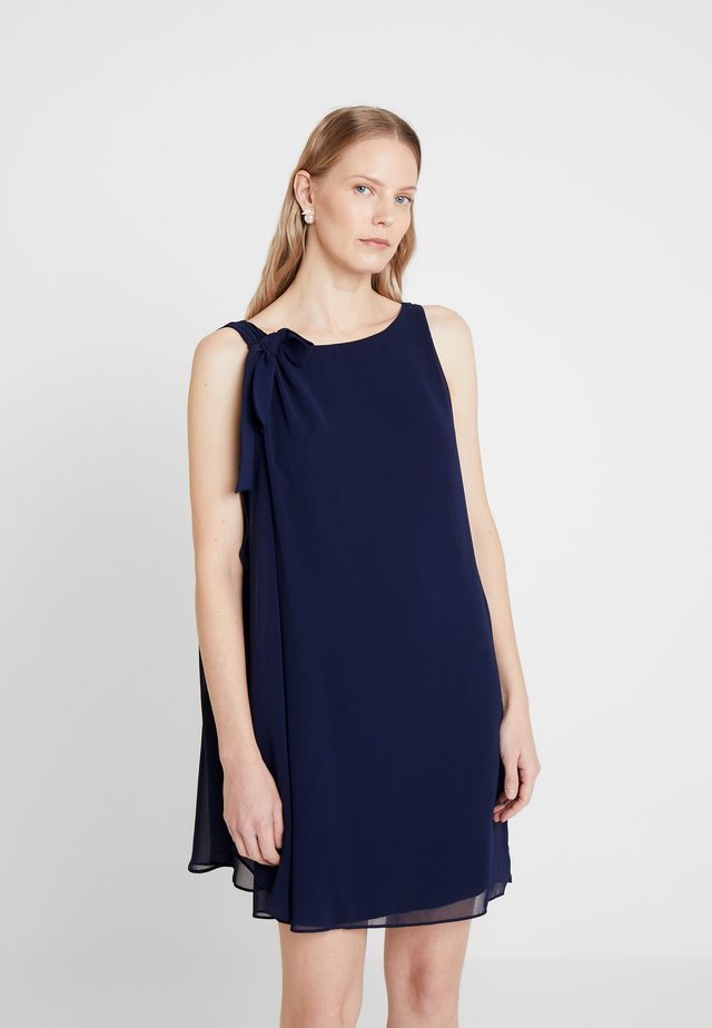 LAURIE NOEUD - Cocktail dress / Party dress - bleu marine