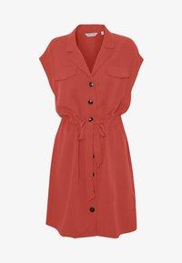 NAF NAF - Robe chemise - epices - 4