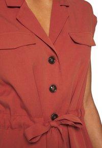 NAF NAF - Robe chemise - epices - 5