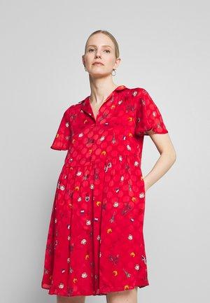 LAMOUROUGE - Robe chemise - lamour lipstick