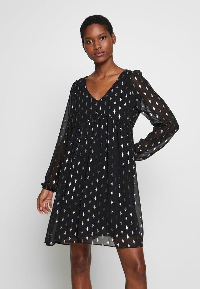 FOLKITA - Denní šaty - black