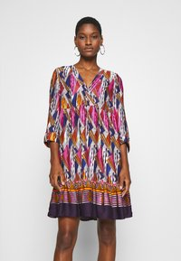 NAF NAF - LESOLAR - Day dress - multicolore - 0