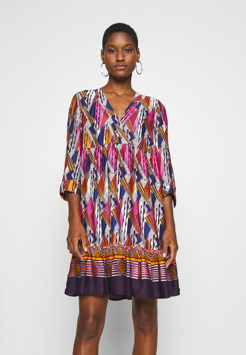 NAF NAF - LESOLAR - Day dress - multicolore