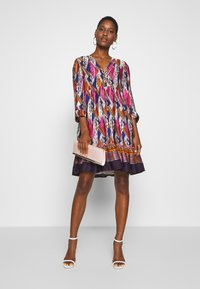 NAF NAF - LESOLAR - Day dress - multicolore - 1