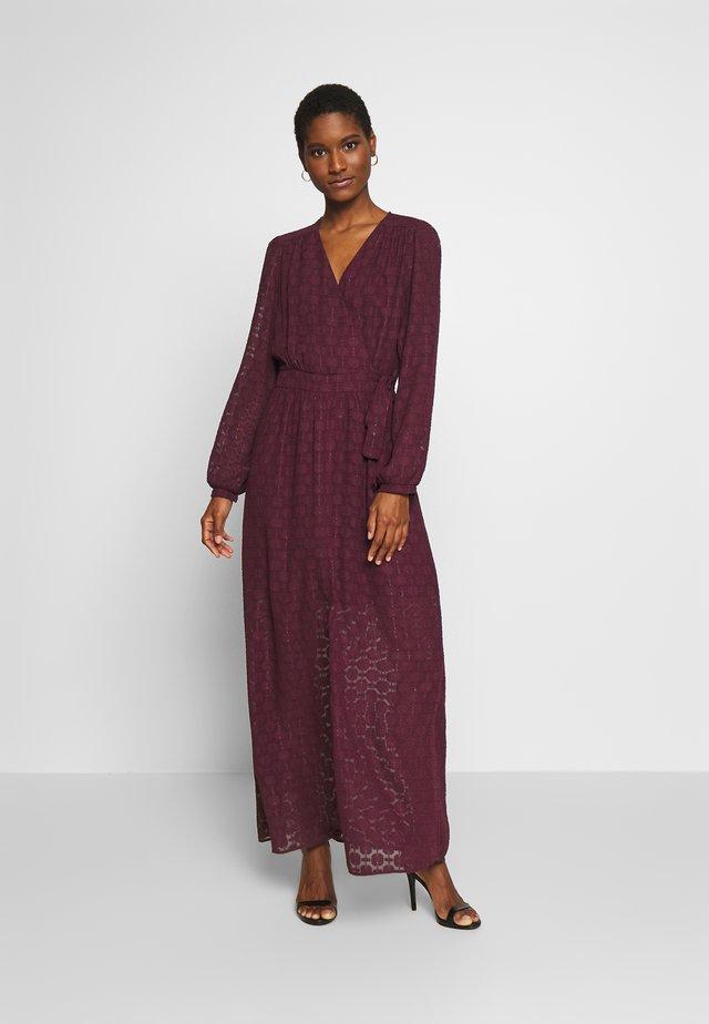 AMEL - Korte jurk - figue