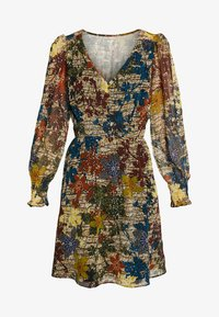NAF NAF - WAXY  - Korte jurk - beige - 3