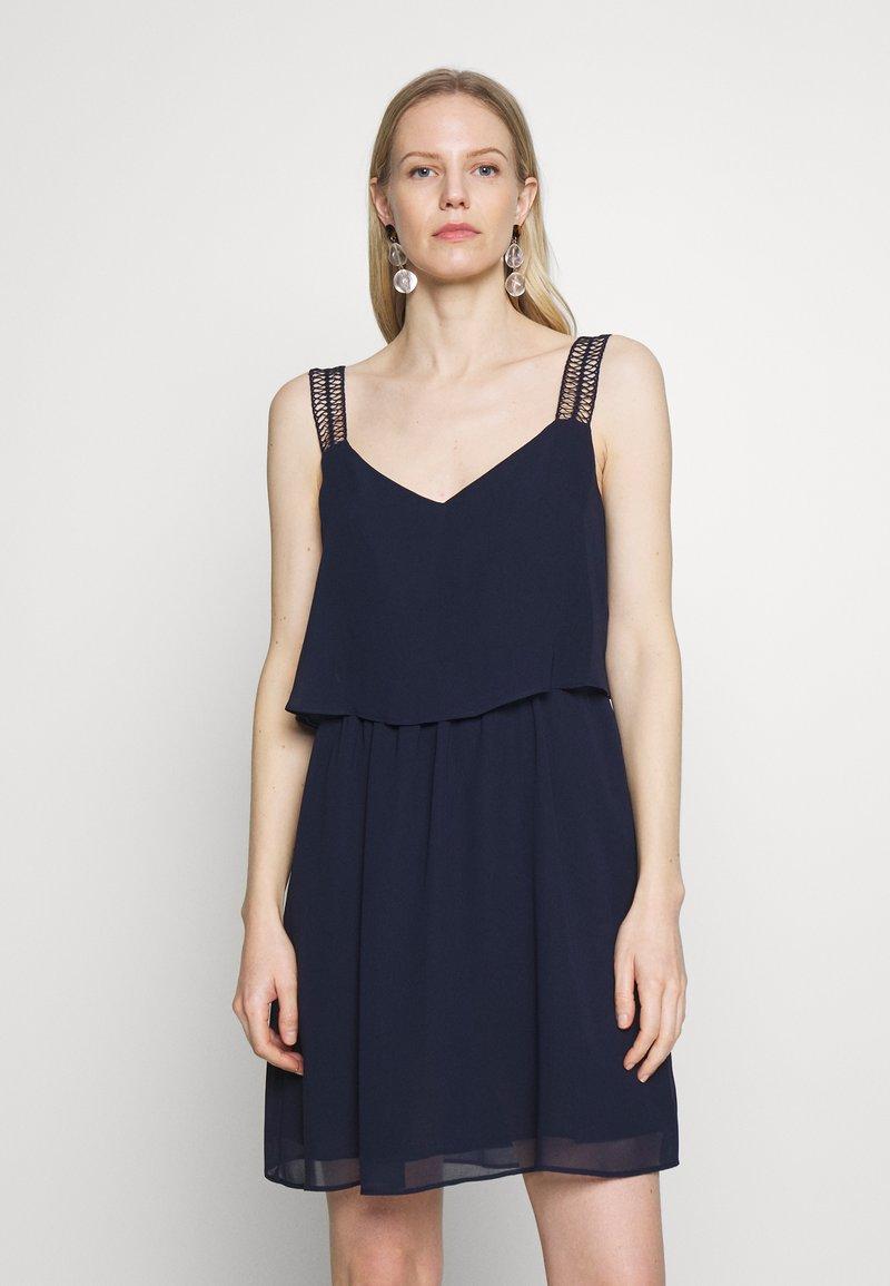 NAF NAF - JOIA - Denní šaty - bleu marine
