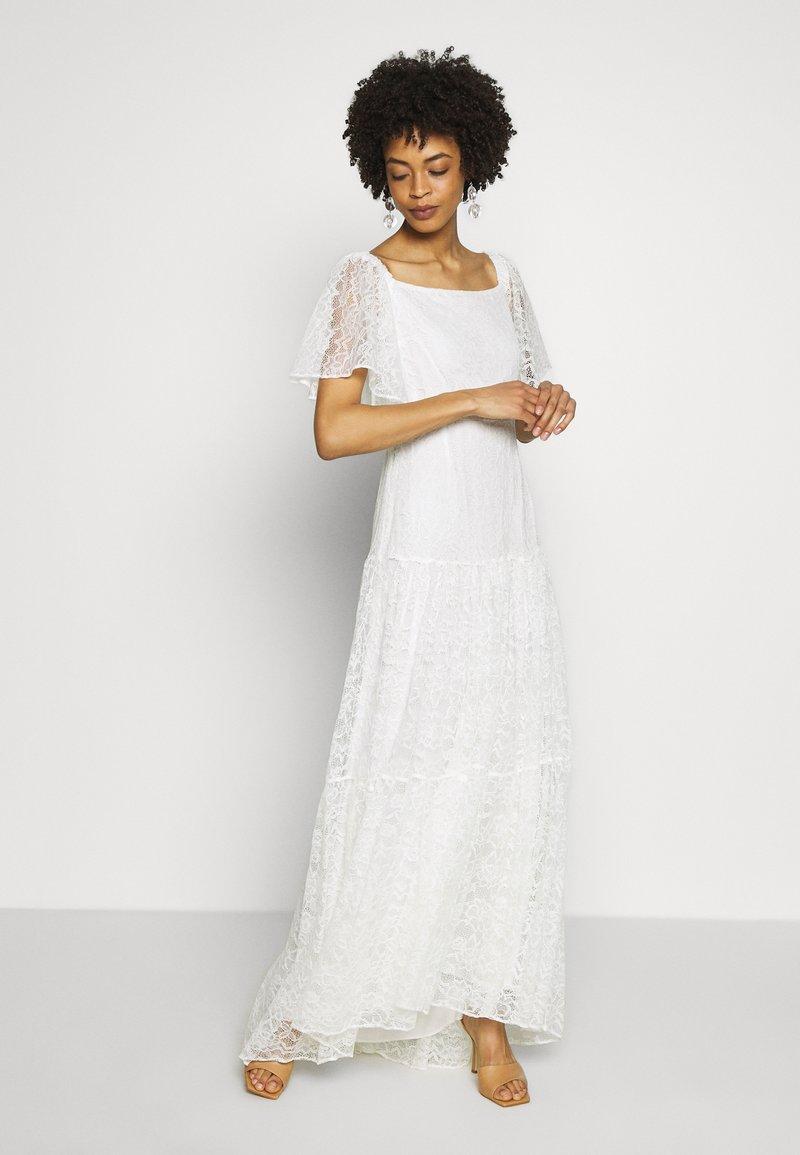 NAF NAF - ALMA - Vestito elegante - blanc