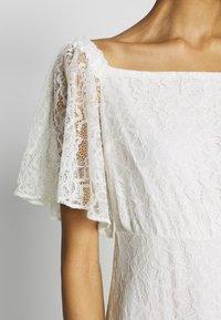 NAF NAF - ALMA - Vestito elegante - blanc - 5