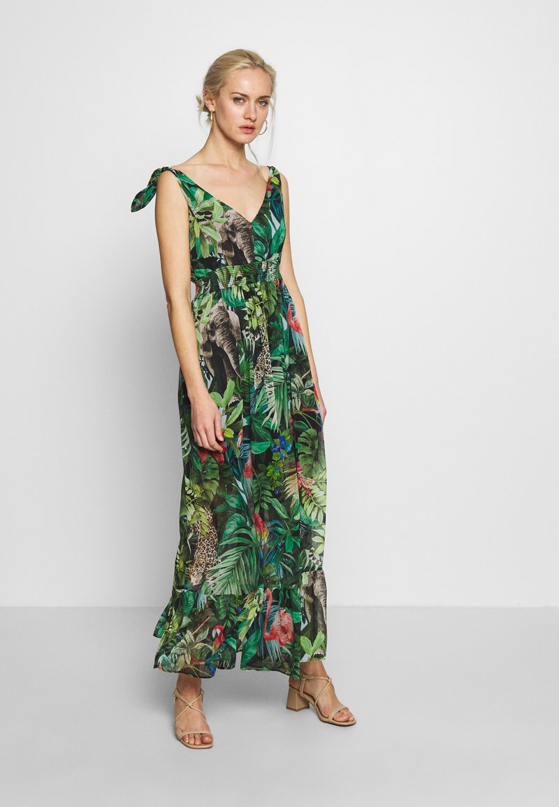 NAF NAF - JANE - Robe longue - green