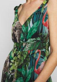 NAF NAF - JANE - Robe longue - green - 5