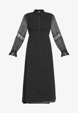 DONATELLE - Shirt dress - noir motif