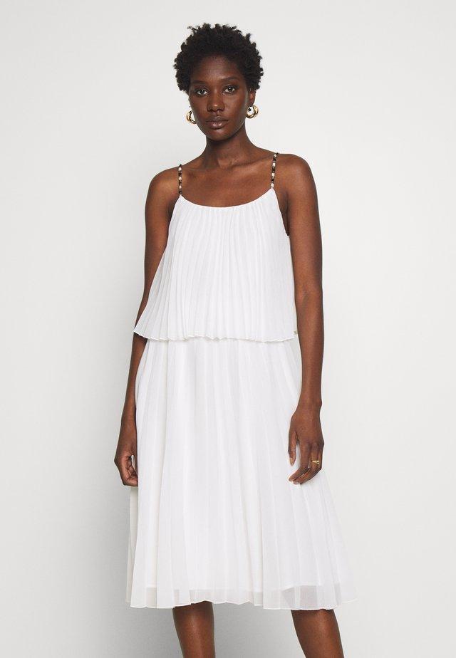CARIBA - Korte jurk - ecru
