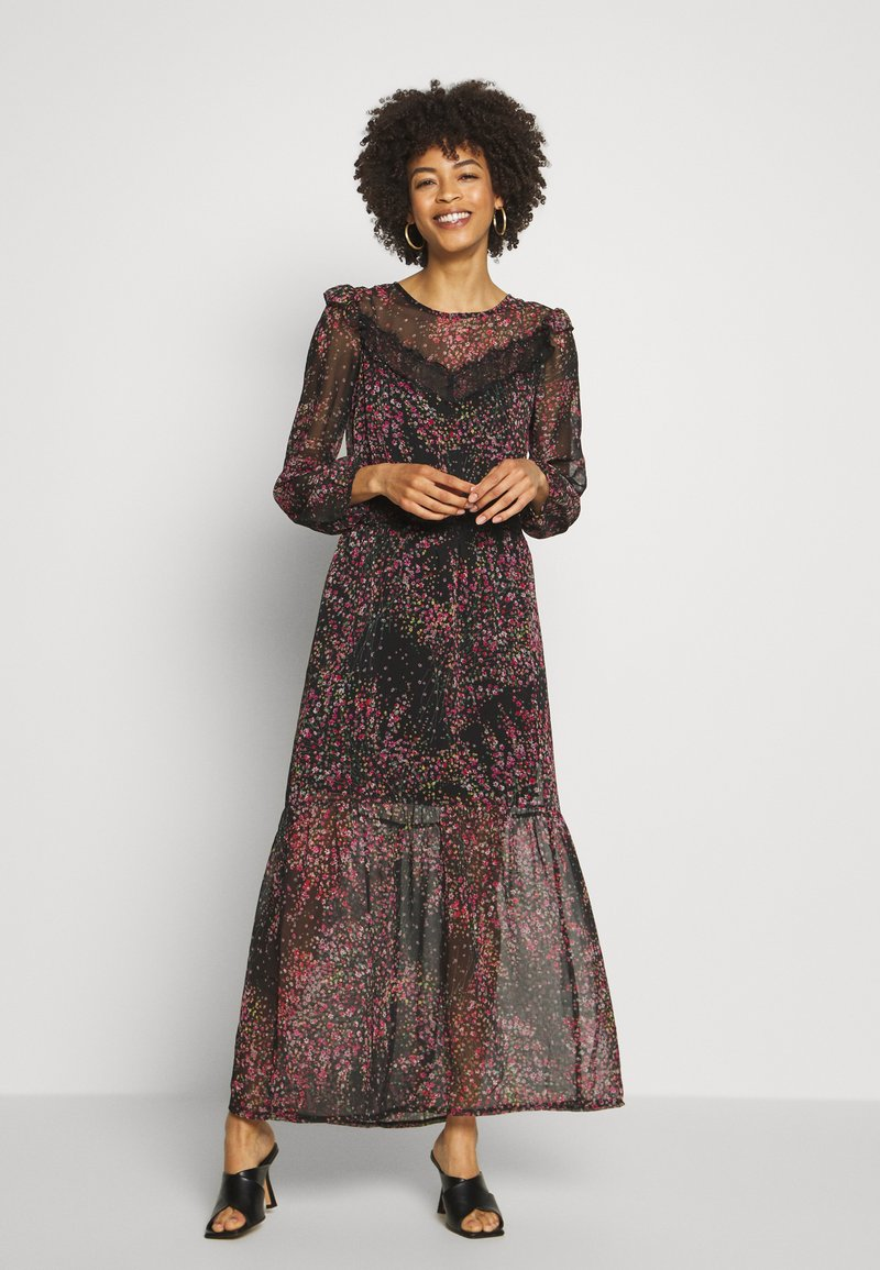 NAF NAF - SAMYRA - Robe longue - noir