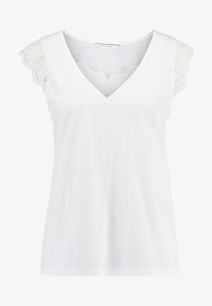 ROBERTO - Print T-shirt - ecru
