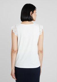 NAF NAF - ROBERTO - T-shirt print - ecru - 2