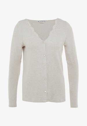 OBLOOM - Cardigan - beige chine