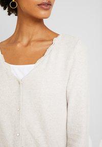 NAF NAF - OBLOOM - Cardigan - beige chine - 5