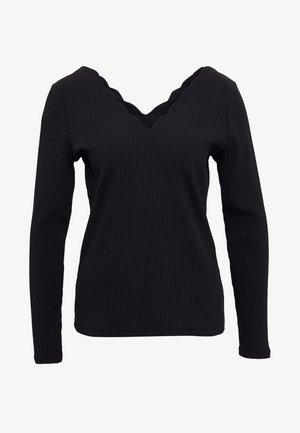 CORTO - Long sleeved top - noir