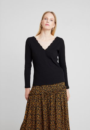 CORTO - Long sleeved top - noir