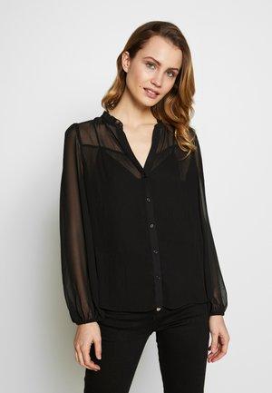 BLOCKA  - T-shirt imprimé - noir