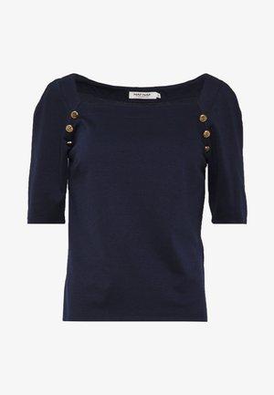 KAREN - T-shirt con stampa - bleu marine