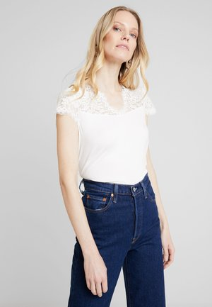 HELENE - T-shirt basic - ecru